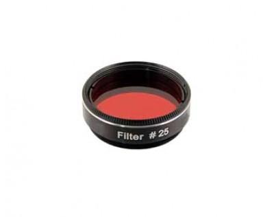 """Filtro #25A - Vermelho -1.25"""""""