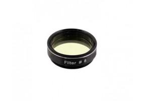 """Filtro #8 - Amarelo Claro -1.25"""""""