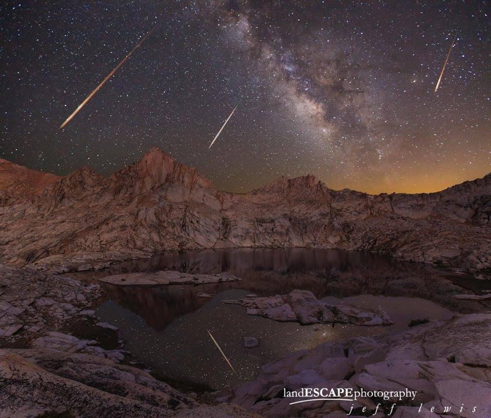 chuva de meteoros eta-aquarideos