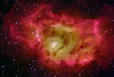 Nebulosa Laguna em HOS