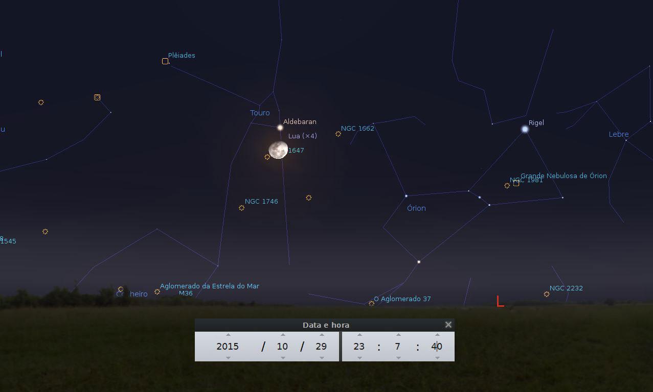 lua nasce na constelação de touro