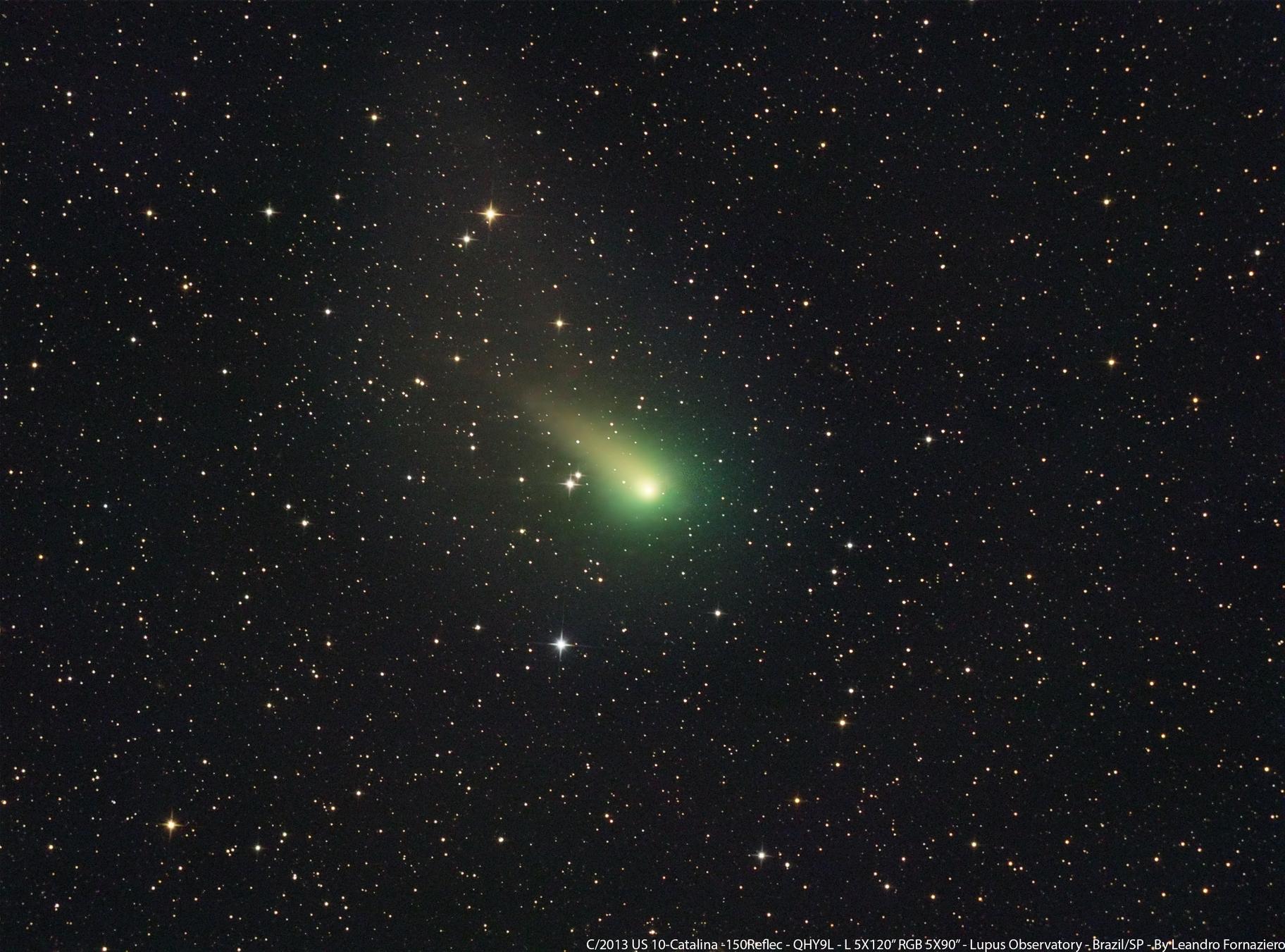 Cometa C/2013 US10 (Catalina) câmera QHY9