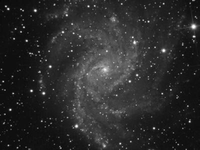 galáxia espiral qhy5l