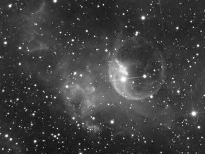 nebulosa bolha qhy5l