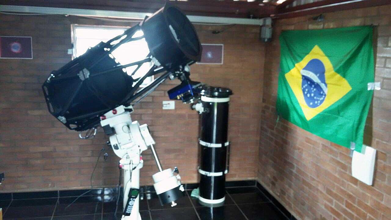 telescópio gso newtoniano truss e cem60-ec leonardo amaral